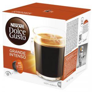 "Kaffekapslar ""Grande Intenzo"" 16 x 10g - 45% rabatt"