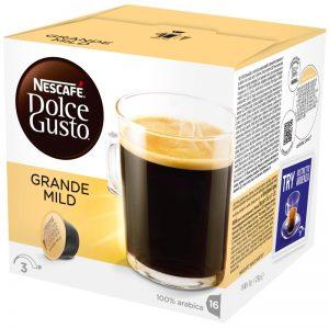 """Kaffekapslar """"Grande Mild"""" 16 x 8g - 45% rabatt"""