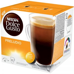 "Kaffekapslar ""Preludio"" 16-pack - 45% rabatt"
