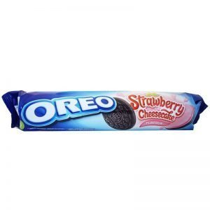 "Kakor ""Strawberry & Cheesecake"" 154g - -1% rabatt"