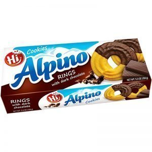 "Kakringar ""Dark Chocolate"" 150g - 29% rabatt"