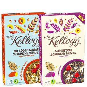 Kellogg's Müslipaket - 64% rabatt