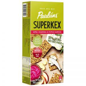 Kex Äpple, Ingefära & Quinoa 185g - 31% rabatt