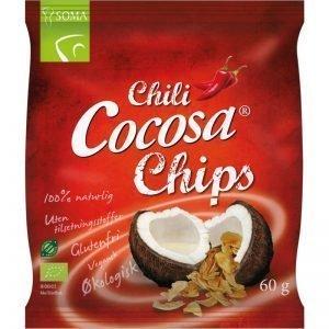 Kokosflingor Chili 60g - 41% rabatt