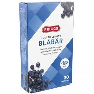 Kosttillskott Blåbär 30-pack - 71% rabatt