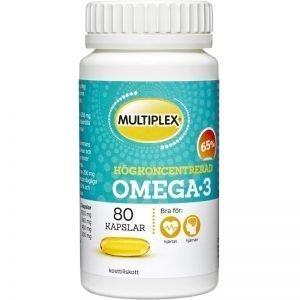 Kosttillskott Högkoncentrerad Omega-3 80-pack - 100% rabatt