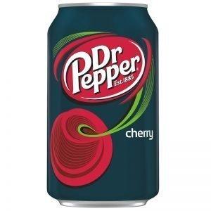 """Läsk """"Dr Pepper Cherry"""" 355ml - 64% rabatt"""