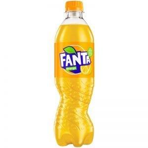 """Läsk """"Fanta Orange"""" 500ml - 50% rabatt"""