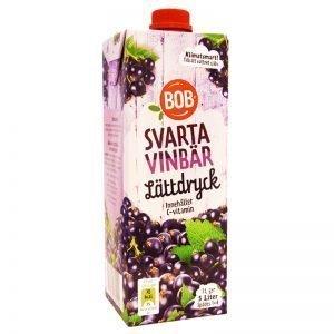 Lättdryck Svarta Vinbär - 50% rabatt