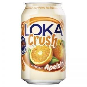 """Loka """"Crush"""" Apelsin 33cl - 22% rabatt"""