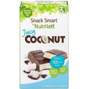 """Måltidsersättning Snackbar """"Coconut"""" 3 x 30g - 43% rabatt"""