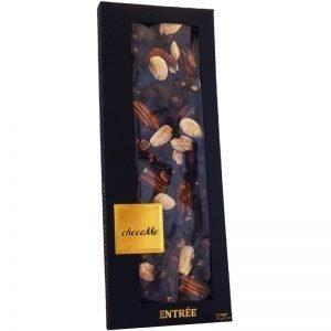 Mörk Choklad Pekannötter, Mandel & Svarta Vinbär 100g - 58% rabatt