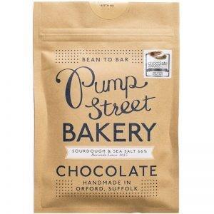 """Mörk Choklad """"Sourdough & Seasalt"""" 70g - 50% rabatt"""