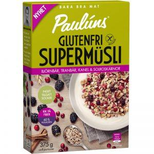 Müsli Björnbär, Tranbär & Kanel Glutenfri 375g - 15% rabatt