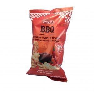 Majs- & rischips BBQ - 70% rabatt