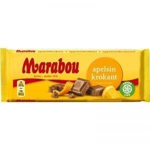"Marabou Chokladkaka ""Apelsinkrokant"" 100g - 33% rabatt"