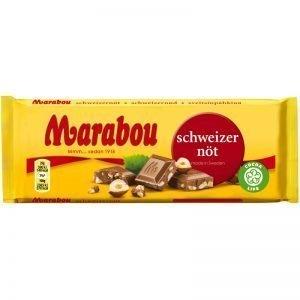 Marabou Chokladkaka Schweizernöt 100g - 33% rabatt