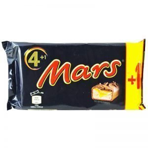Mars 5-pack 5 x 45g - 37% rabatt