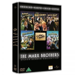 Marx Brothers Collection DVD - 20% rabatt