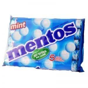 Mentos 5-Pack Mint - 40% rabatt