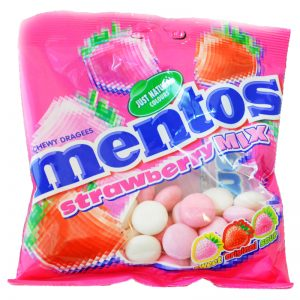Mentos Bags Strawberry - 40% rabatt