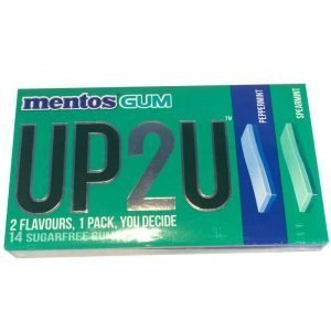 Mentos Gum UP2U Peppermint/Spearmint - 44% rabatt