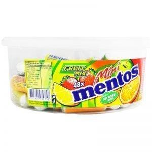 """Mentos """"Mini"""" 48 x 10,5g - 38% rabatt"""