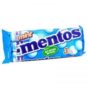 "Mentos ""Mint"" 3 x 38g - 29% rabatt"