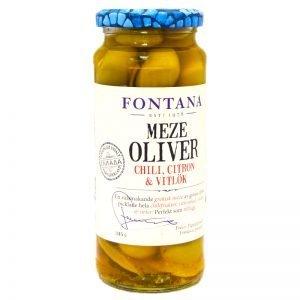 Meze Oliver, Chili, Citron & Vitlök - 37% rabatt