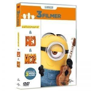 Minioner 3 Filmer DVD - 40% rabatt