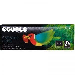 """Mjölkchoklad """"Caramel Crisp"""" 50g - 69% rabatt"""