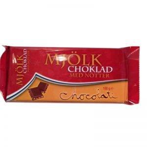 Mjölkchoklad med nötter - 37% rabatt