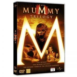 Mumien 1, 2 & 3 DVD - 20% rabatt