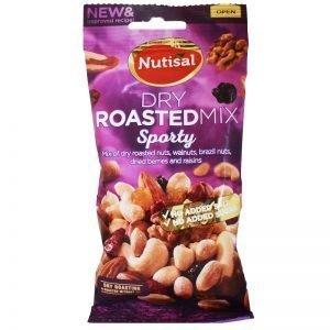 "Nötmix ""Dry Roasted"" 60g - 40% rabatt"