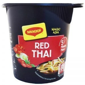 "Nudlar ""Red Thai"" 49g - 4% rabatt"