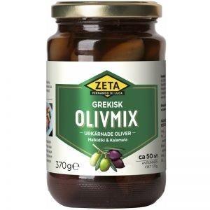 Olivmix Halkidiki & Kalamata 370g - 44% rabatt