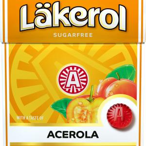 """Pastiller """"Acerola"""" Sockerfri 25g - 66% rabatt"""
