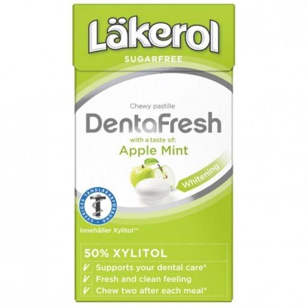 """Pastiller """"Dentafresh Apple & Mint"""" 36g - 33% rabatt"""