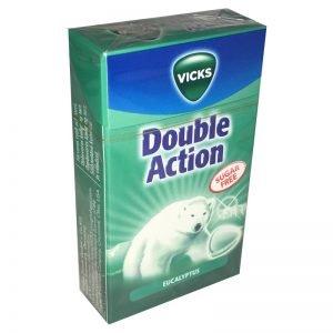 """Pastiller """"Double Action Eucalyptus"""" 40g - 33% rabatt"""