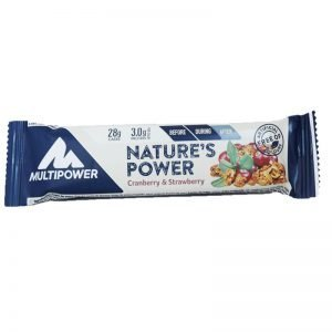 "Proteinbar ""Cranberry & Strawberry"" 40g - 83% rabatt"