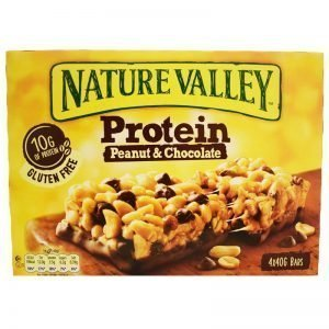"""Proteinbars """"Peanut & Chocolate"""" 4 x 40g - 59% rabatt"""