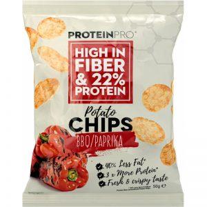 "Proteinchips ""BBQ"" 50g - 74% rabatt"