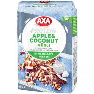 "Proteinmüsli ""Apple & Coconut"" 650g - 28% rabatt"