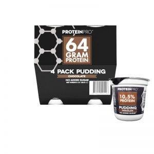 """Proteinpudding """"Chocolate"""" 4 x 150 g - 26% rabatt"""