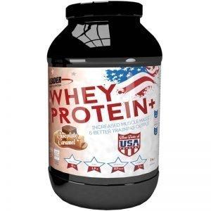 "Proteinpulver ""Chocolate & Caramel"" 2kg - 71% rabatt"