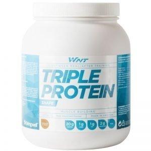 """Proteinpulver """"Triple Protein"""" Choklad 1kg - 43% rabatt"""