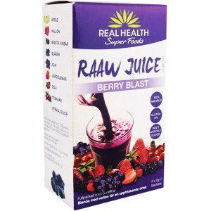 """Råjuice """"Berry Blast"""" 7 x 7g - 83% rabatt"""