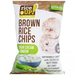 """Rischips """"Sour Cream & Onion"""" 60g - 37% rabatt"""