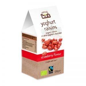 Russin Jordgubbsyoghurt & Vit Choklad 150g - 63% rabatt
