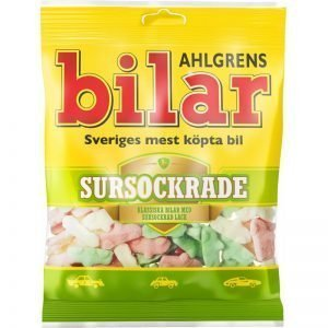 """Skumgodis """"Ahlgrens Bilar Sursockrade"""" 100g - 28% rabatt"""